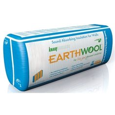Earthwool 11kg/m³ 75 x 450 Folded Acoustic Partition Insulation Batts - 14 Pack