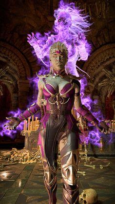 Sindel Mortal Kombat 11, Arte Kombat Mortal, Mortal Kombat Games, Iconic Characters, Female Characters, Trajes Mortal Kombat, Liu Kang And Kitana, Mortal Kombat X Wallpapers, Cartoon Profile Pictures