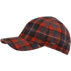 Red Hunting Hat With Ear Flaps Outdoor Cap Short Billed