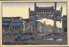 Cyrus leRoy Baldridge Woodblock Print - Peking Winter www.erawoodblockprints.com 4795