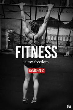 Fitness Is My Freedom I'm free to build whatever I want to build! More motivation -> http://www.gymaholic.co #fit #fitness #fitblr #fitspo #motivation #gym #gymaholic #workouts #nutrition #supplements #muscles #healthy
