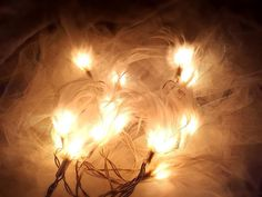 LED 20 feather String Lights for by smilelights on Etsy