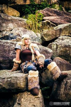 Astrid Hofferson from How to Train Your Dragon 2  Cosplayer:...
