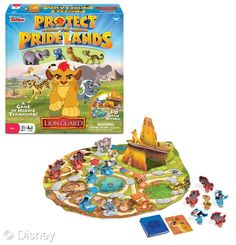 """Disney Junior The Lion Guard Protect the Pride Lands Board Game - Wonder Forge - Toys """"R"""" Us Toys For Boys, Gifts For Boys, Board Games For Kids, Kids Board, Kids Room Organization, Disney Junior, Kids Store, New Toys, My Little Pony"""