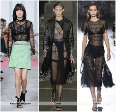 Sheer clothing had its own share of snags throughout its controversial existence but runways all over the world caving into the alluring aesthetic proves how sheer will manage to work its way into most trends. For more updates on this visit: http://bit.ly/2k0pgZA