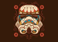 Sugar Skull Trooper T-Shirt | SnorgTees