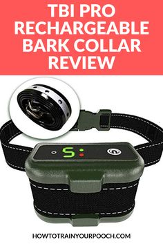 Thinking of getting the TBI Pro Rechargeable Bark Collar. Best Bark Collar, Anti Bark Collar, Best Dog Training, Training Tips, Bark Collars For Dogs, Electronic Dog Collars, E Collar Training, Dog Shock Collar, Stop Dog Barking