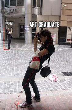 tourist vs art graduate