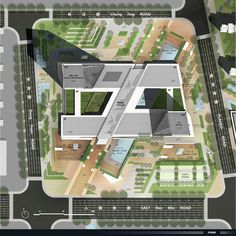 Gallery of Mixed Use Center in Zhangjiagang / ATKINS – 1 – baby style – Planen Architecture Site Plan, Concept Models Architecture, Art Et Architecture, Architecture Concept Diagram, Landscape Architecture Design, Landscape Plans, School Architecture, Architecture Diagrams, Architecture Portfolio