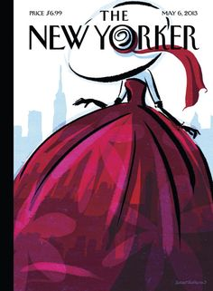 "newyorker:            ""When I visited New York, one of my favorite things to do was to explore the various flea markets,"" says Birgit Schössow, the German artist behind this week's cover, ""City Flair."" ""And in the last few years, I've even ordered some beautiful costumes and dresses from the forties and fifties from New York's vintage shops online. These little works of art are simply beautiful to look at from time to time, and to wear every now and then. There's so much history in a…"