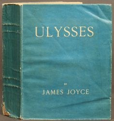 1st ed., Ulysses, by James Joyce. Shakespeare & Co., Paris, 1922