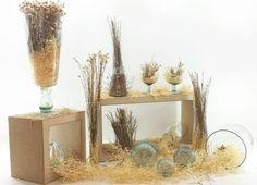 Inspiração de decor com vidro reciclado