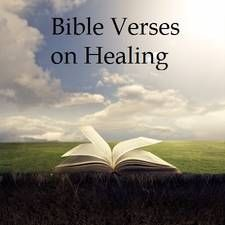 This is a comprehensive list of Scriptures from the that deal with healing. You can use these in prayer http://www.missionariesofprayer.org/2014/07/bible-verses-healing/