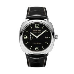 Panerai Radiomir 45MM Stainless Steel Black Seal Watch