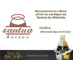 Nova parceria com @aguadearcanjo e @santua.