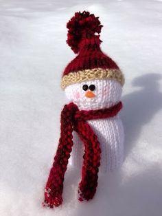 snowman knit knit snowman ravelry Amigurumi free pattern knit