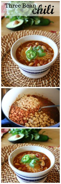 Three Bean Chili Rec