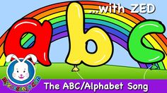 The ABC Song with Zed - Nursery Rhymes
