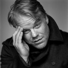Weird that we went to high school together and now he's all this! Philip Seymour Hoffman