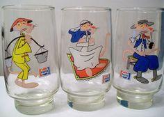 Vasos coleccionables de La Pantera rosa (Pepsi)
