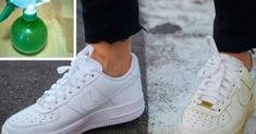 How to clean shoes sneakers white 22 ideas for 2019 Clean Tennis Shoes, White Tennis Shoes, Clean Shoes, Cleaning White Shoes, Cleaning Sneakers, White Converse Shoes, How To Clean White Sneakers, Super White, How To Make Shoes