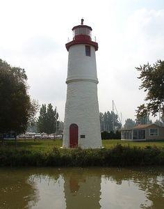 Thames River Range Rear Light. Southwestern Ontario