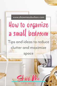 I needed some tips and ideas for how to save space in my small bedroom. This article gave me so much info on tiny bedroom storage and organization hacks! It really helped me maximize the space in my room. #organization #organizinghacks Under Bed Organization, Small Bedroom Organization, Under Bed Storage, Organization Hacks, Declutter Your Home, Organizing Your Home, Extra Storage Space, Storage Spaces, Tiny Bedroom Storage