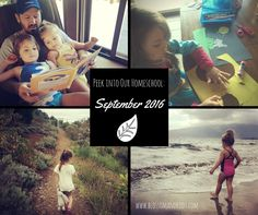 Peek Into Our Homeschool: September 2016 https://blossomandroot.com/peek-into-our-homeschool-september-2016/