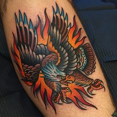 Eagle Chest Tattoo, Eagle Tattoos, Sweet Tattoos, Dream Tattoos, Tatoos, Tattoo Test, Tattoo You, Traditional Eagle Tattoo, Desenhos Old School