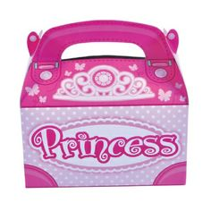 Princess Treat Box  (Bulk Pack of 12 Boxes) at theBIGzoo.com