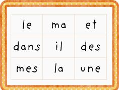 French School, French Class, Kids Learning Activities, Teaching Resources, French Resources, French Immersion, Teaching French, Teacher Hacks, Learn French