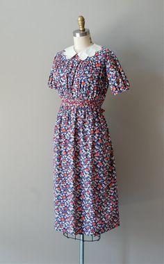 1930s dress / 30s dress / Mother May I dress by DearGolden on Etsy