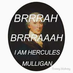 'Hercules Mulligan Hamilton Musical' Sticker by Rosey Mulvey Hamilton Wallpaper, Hercules Mulligan, Theatre Nerds, Theater, Musical Theatre, Hamilton Lin Manuel Miranda, Aaron Burr, What Is Your Name, In The Heights
