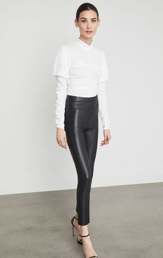 Blossom Faux-Leather Legging Faux Leather Leggings, Leather Pants, Autumn Fashion 2018, Dressing, Jumpsuit, Shopping, Night, Style, Overalls