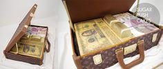 Louis Vuitton Briefcase And Money