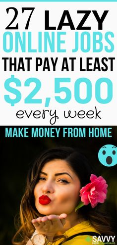 27 Creative Ways To Make Money From Home and Earn Cash On The Side Looking for side hustles to make money online? Check out these 27 work from home jobs that are paying well right now.