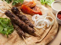 Kabab Lahem Recipe (LC14234) - Chargrill minced lamb kebabs.