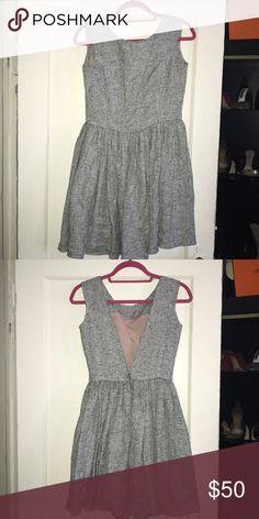 Contrarian vback fit and flare mini dress Open back fit and flare mini dress ONE by Contrarian Dresses Mini