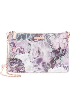 Ted Baker London Illuminated Bloom Leather Crossbody Bag available at #Nordstrom