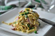 Pasta gorgonzola kokt skinke