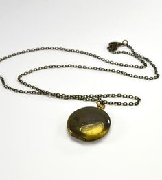 Vintage Patina Locket Necklace by City Owl on Scoutmob Shoppe
