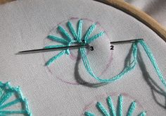Buttonhole Flowers-Embroidery360