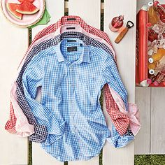 10 Perfect Gingham Shirts for Summer  - Southern Living