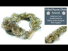 Beaded Chain Tutorial - YouTube