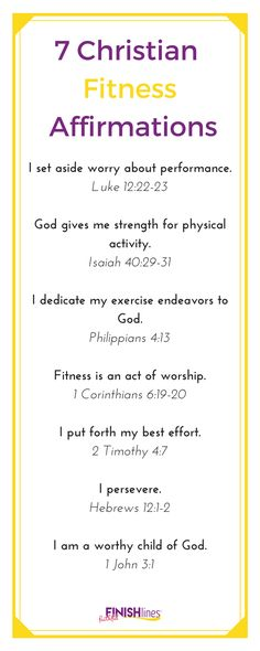 7 Christian Fitness