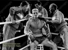 A gallery of Rocky IV publicity stills and other photos. Featuring Sylvester Stallone, Dolph Lundgren, Carl Weathers, Tony Burton and others. Rocky Series, Rocky Film, Turner Classic Movies, Classic Films, Dolph Lundgren Grace Jones, Rocky Stallone, Burt Young, Carl Weathers, Boxing History