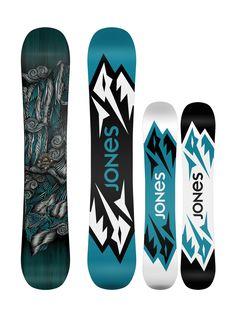 Das Mountain Twin ist DAS #Snowboard von Jones für freestylende Freerider oder diejenigen die ein Board suchen das allen können soll.