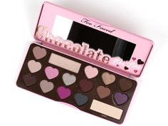 Too Faced - Chocolate Bon Bons  This is my favorite of the 3 chocolate palettes. I find it easy to do cool-neutral looks and appreciate the matte crease and transition shades.