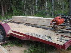 Simple sawmill setup - Shop Talk