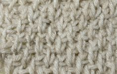 My Tunisian Crochet: Tunisian Knit / Coil Stitch